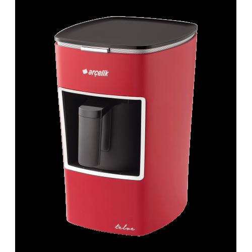 Arçelik K 3300 Kırmızı Mini Telve Türk Kahve Makinesi
